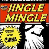 Ancient China Jingle Mingle Fun Class Review Activity