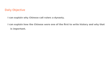 Ancient China Lecture Notes