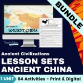 Ancient China Lesson Set Bundle
