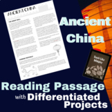 Ancient China Leveled Group Work