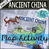 Ancient China Map Activity (Print and Digital)