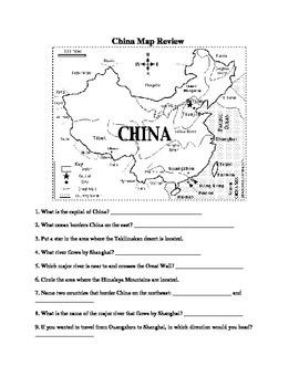 Ancient China Map Review