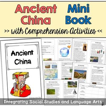 Ancient China Mini Book