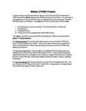 Ancient China - Mulan Project
