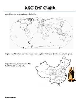 Ancient China Packet