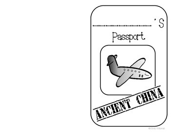 Ancient China Passport