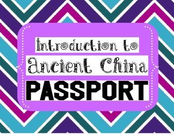 Ancient China Passport