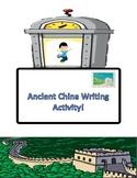 Ancient China Post Card Writing!