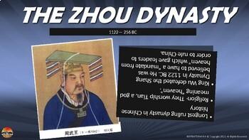 Ancient China PowerPoint NOTES Zhou, Shang, Qin, Han and Shang Dynasties