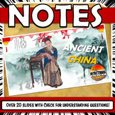 Ancient China PowerPoint NOTES Zhou, Shang, Qin, Han and S