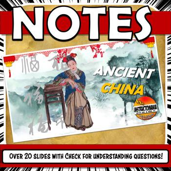 Ancient China PowerPoint Zhou, Shang, Qin, Han and Shang D