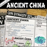 Ancient China PowerPoint and Guided Notes {Xia,Shang,Zhou,Qin,Han}