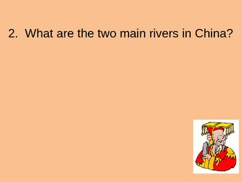 Ancient China Powerpoint Review Quiz