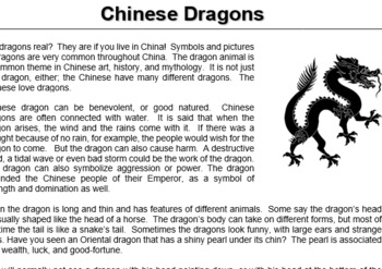 Ancient China Reading Comprehension Bundle