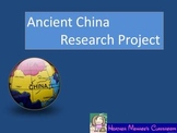 Ancient China Research Project