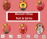 Ancient China History Roll & Write
