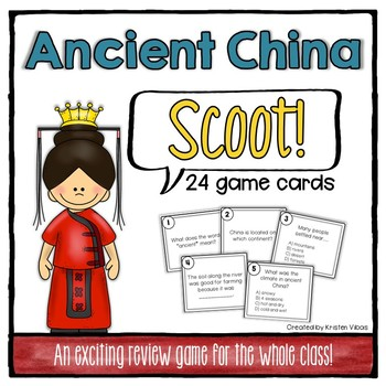 "Ancient China ""SCOOT!"""