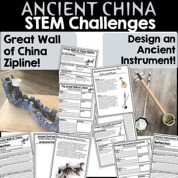 Ancient China STEM Challenges