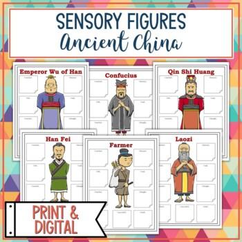 Ancient China Sensory Figure Body Biographies