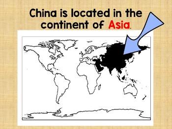 Ancient China Slide Show and Materials Bundle VA SOL Aligned