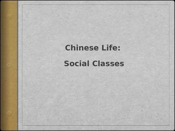 Ancient China Social Classes