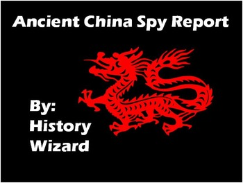 Ancient China Spy Report