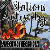 Ancient China Stations Activity