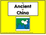 Ancient China Story and Worksheets