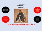 Ancient China:  Study Guide and Activity Pack