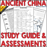 Ancient China Study Guide and Assessments