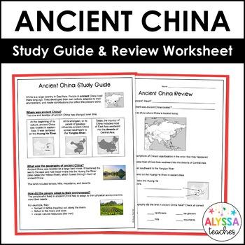 ancient china test teaching resources teachers pay teachers