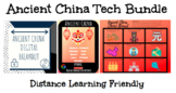 Ancient China Technology Bundle: Breakout, Hyperdoc, & Choice Board