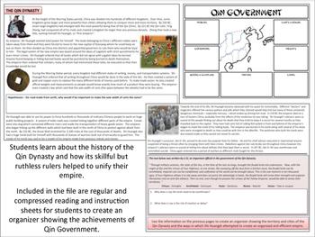 Ancient China - The Qin Dynasty