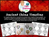 Ancient China Timeline - Cut and Paste