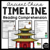 Ancient China Timeline Reading Comprehension