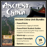 Ancient China Unit Bundle - 28 Resources!