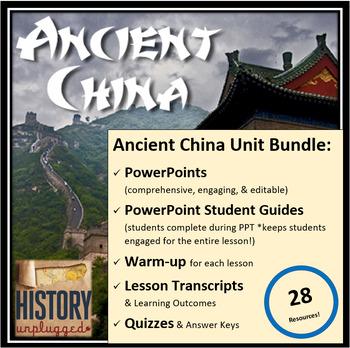 Ancient China Unit Bundle - 28 Resources!