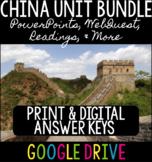 China Unit Bundle - Shang through Qing Dynasties