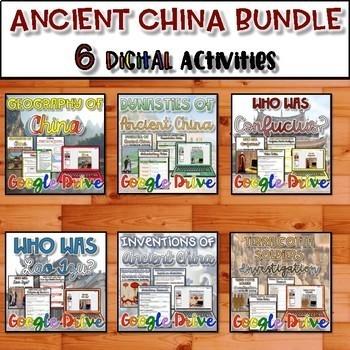 Ancient China Unit Bundle {Digital}