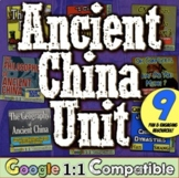 Ancient China Unit:  8 engaging activities! Geography, Dynasties, & Philosophy!