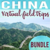 Ancient China Virtual Field Trip Bundle (Google Earth Expl