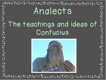 Ancient China Vocabulary PowerPoint and Notes