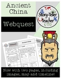 Ancient China Webquest Activity