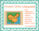 Ancient China Webquests (4)