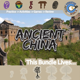 Ancient China -- World History Curriculum Unit Bundle