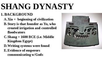 Ancient China-Zhou and Shang PPT