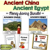 Ancient China and Ancient Egypt Bundle