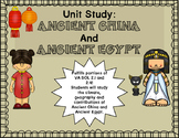 Ancient China and Ancient Egypt Unit