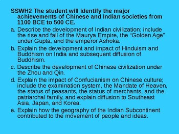 Ancient China and India Powerpoint