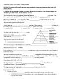 Ancient China and India Study Guide and Key
